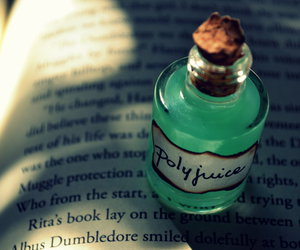 harry potter, potion, and polyjuice image