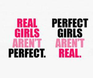 text, the true, and perfect girls image