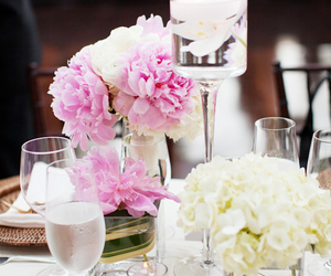 candles, rose, and decor image