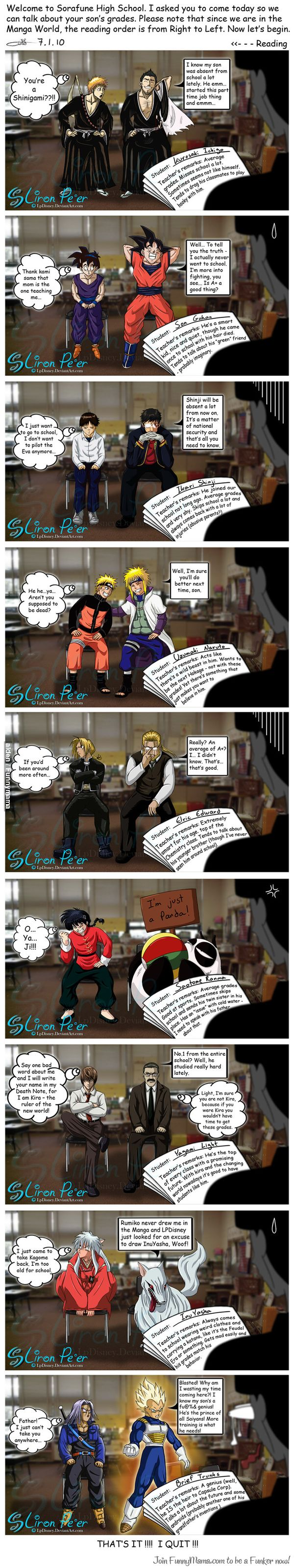 anime, bleach, and death note image