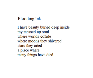 i know i messed up poems