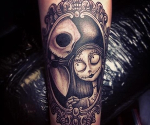 tattoo, sally, and jack image