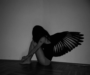 angel and lonely image