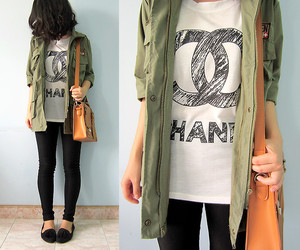 <3, chanel, and lookbook image