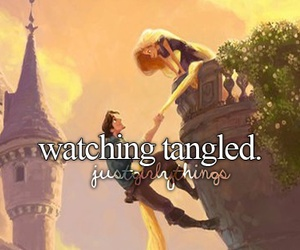 tangled, disney, and movie image