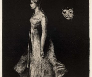 faces, odilon redon, and art image