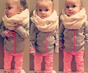 baby girl, so cute, and pink image