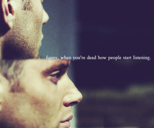 supernatural, quote, and spn image