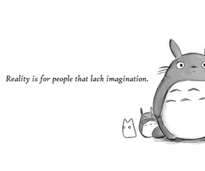 black and white, totoro, and drawing image