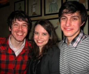 john gallagher jr and phoebe strole image