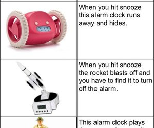 funny, alarm, and humor image
