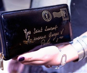 YSL, Yves Saint Laurent, and clutch image