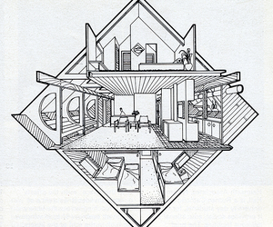 draw, perspective, and architectura image
