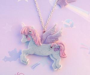 pastel and unicorn image