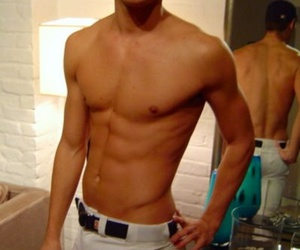 abs, are, and attractive image
