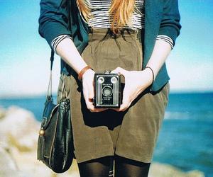 camera and sea image