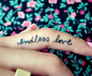 love, tattoo, and endless image