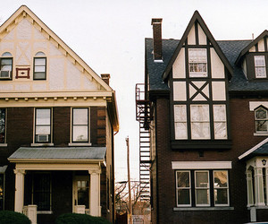 house, vintage, and architecture image