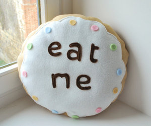 eat, me, and pillow image
