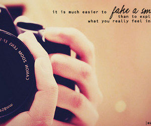 smile, photography, and quote image