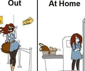 girl, true, and home image