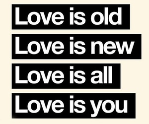 love, you, and old image