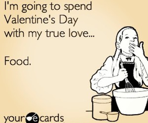 food, valentine, and love image