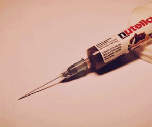 nutella, chocolate, and drugs image