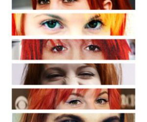 hayley williams, eyes, and paramore image