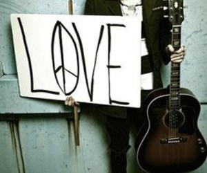 love, peace, and nevershoutnever image