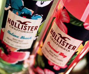 hollister, pink, and california image