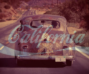 california, photography, and old school. car image