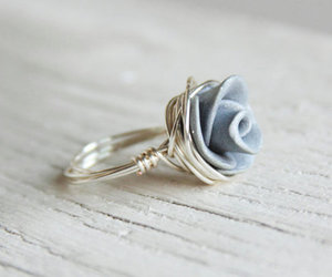 ring, rose, and cute image