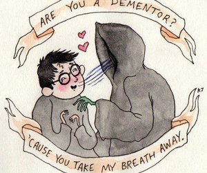harry potter, dementor, and funny image
