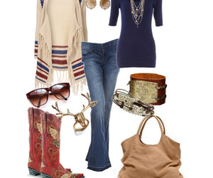 bags, jeans, and jewlery image