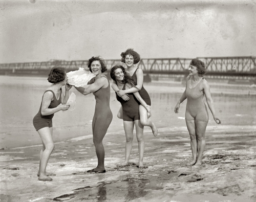 bathing suits, ice, and black and white image