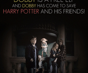 harry potter, dobby, and quote image