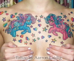 my little pony and tattoo image