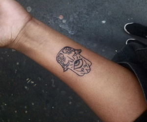 tattoo, cool, and arm image