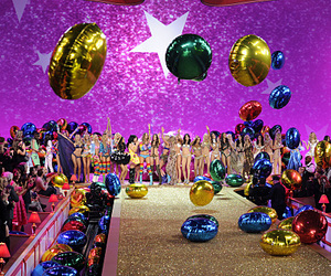 Victoria's Secret, model, and balloons image