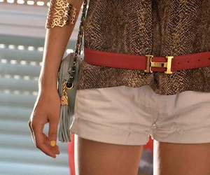 girl, belt, and fashion image