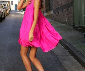 miranda kerr, pink, and dress image