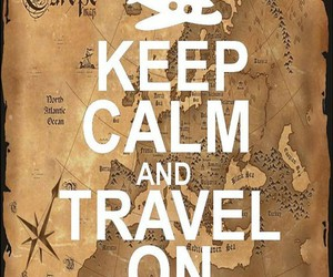 travel and keep calm image