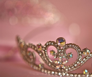 princess, tiara, and pink image