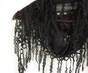 scarf, scarves, and woman accessories image
