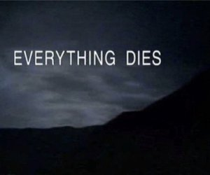 die, death, and everything image