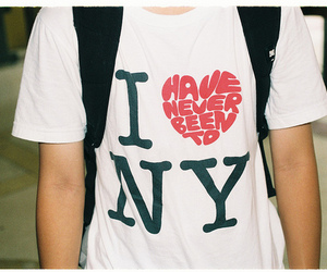 ny, new york, and shirt image