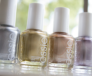 nails, essie, and fashion image