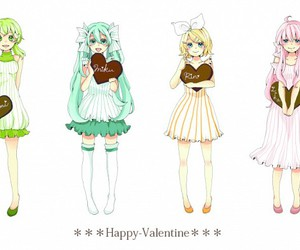anime, valentine, and vocaloid image