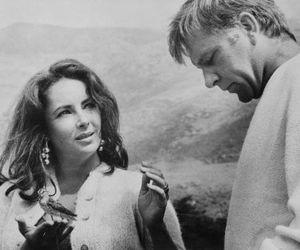 Elizabeth Taylor and richard burton image